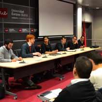 ponencia de gonzalo jimenez sobre derecho deportivo en la Uem